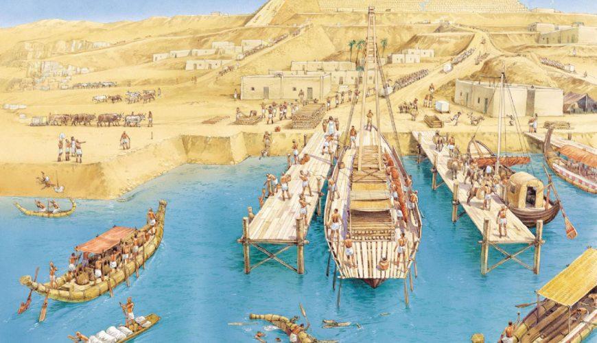 Cómo Se Construyeron las Pirámides - Egypt Tours Portal