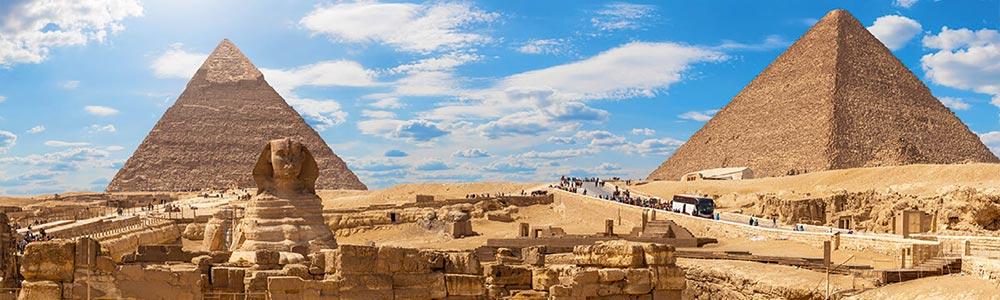Día 2: Tour a Las Pirámides de Guiza y La Ciudad de Menfis:
