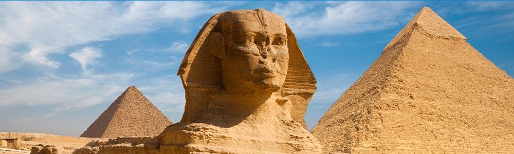 Día 2: Un tour a Las Pirámides de Guiza y El Museo Egipcio.