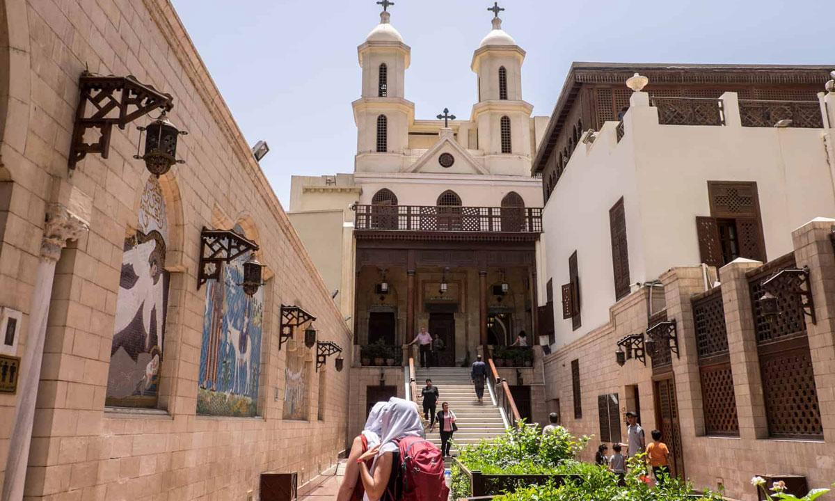 La Iglesia Colgante - Egypt Tours Portal