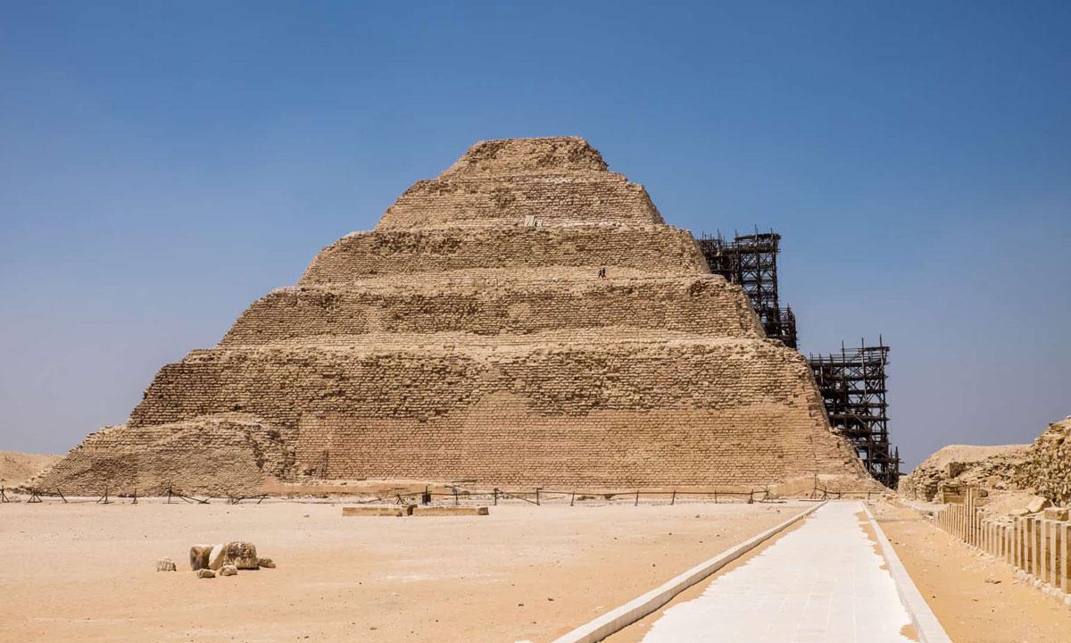 La Pirámide Escalonada de Zoser - Egypt Tours Portal