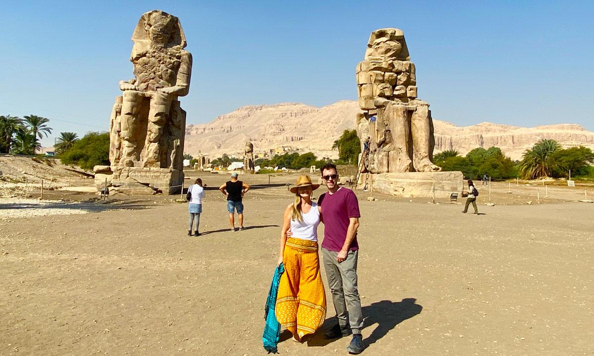 Los Colosos de Memnón - Egypt Tours Portal