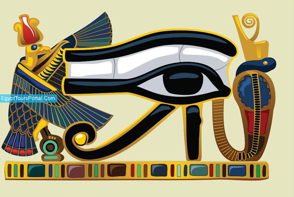 Ojo de Ra - Símbolos Egipcios Antiguos - Egypt Tours Portal