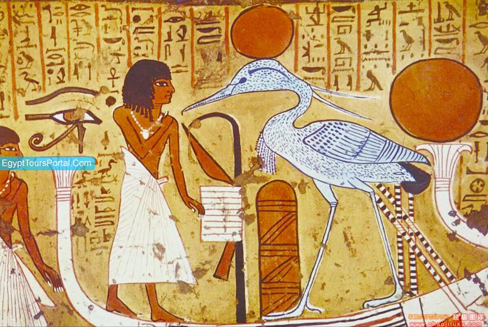 Pájaro Bennu - Símbolos Egipcios Antiguos - Egypt Tours Portal