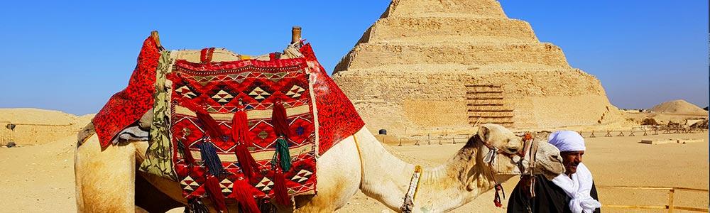 Día 2: la Necrópolis de Guiza, Saqqara, Menfis y Dahshur