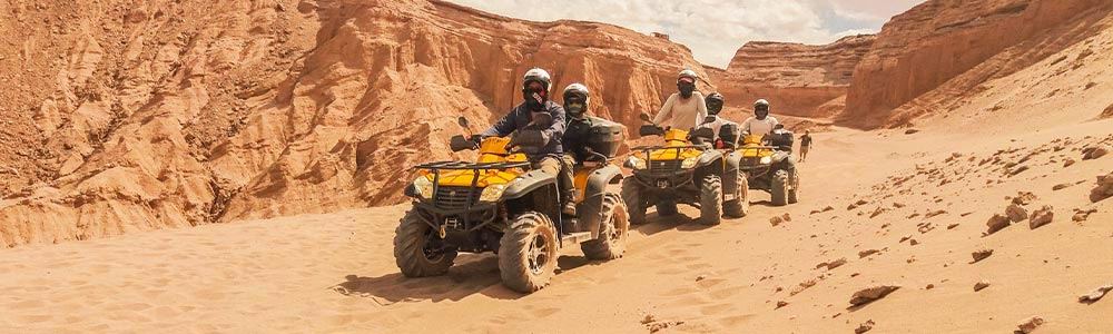 Día 9: Safari en Quad