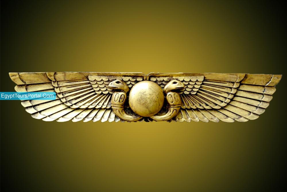 Sol Alado - Símbolos Egipcios Antiguos - Egypt Tours Portal