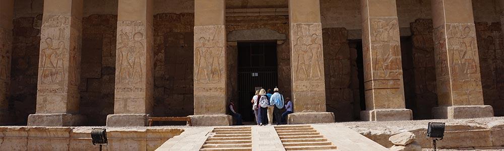 Explorar Abidos y Dendera desde Luxor