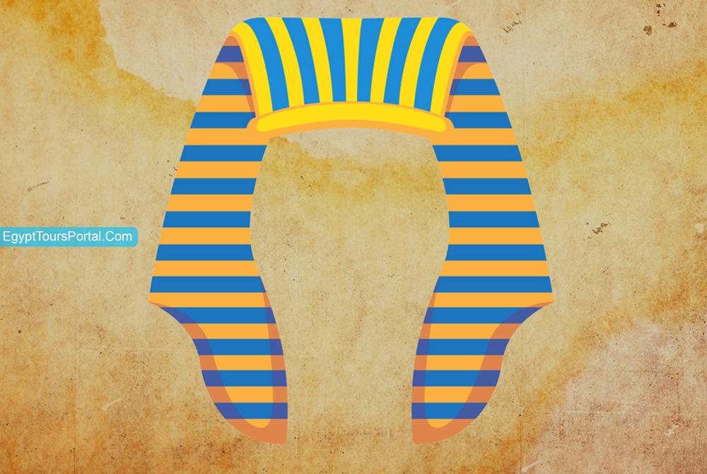 Tocado Nemes - Símbolos Egipcios Antiguos - Egypt Tours Portal