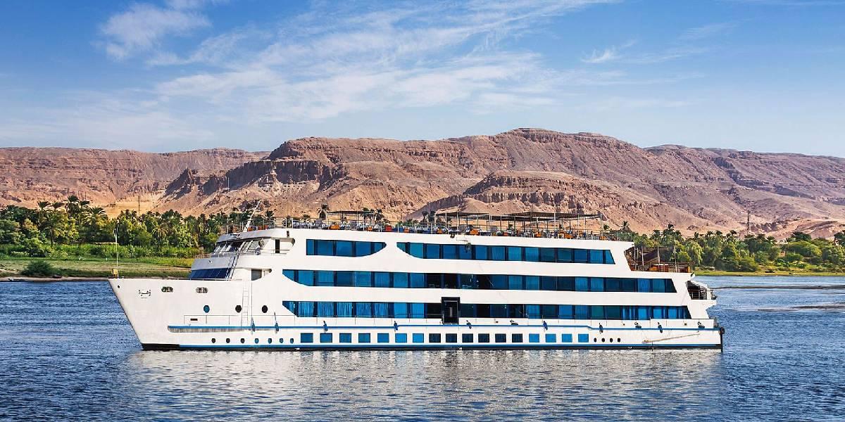 Crucero de Lujo por el Nilo Oberoi Zahra