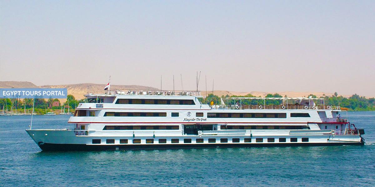 El Crucero de Lujo por el Nilo de Alexander the Great