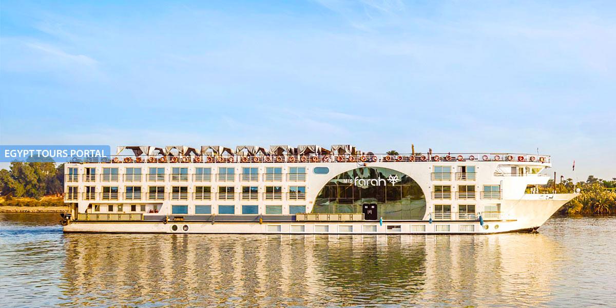 El Crucero de Lujo por el Nilo de MS Farah