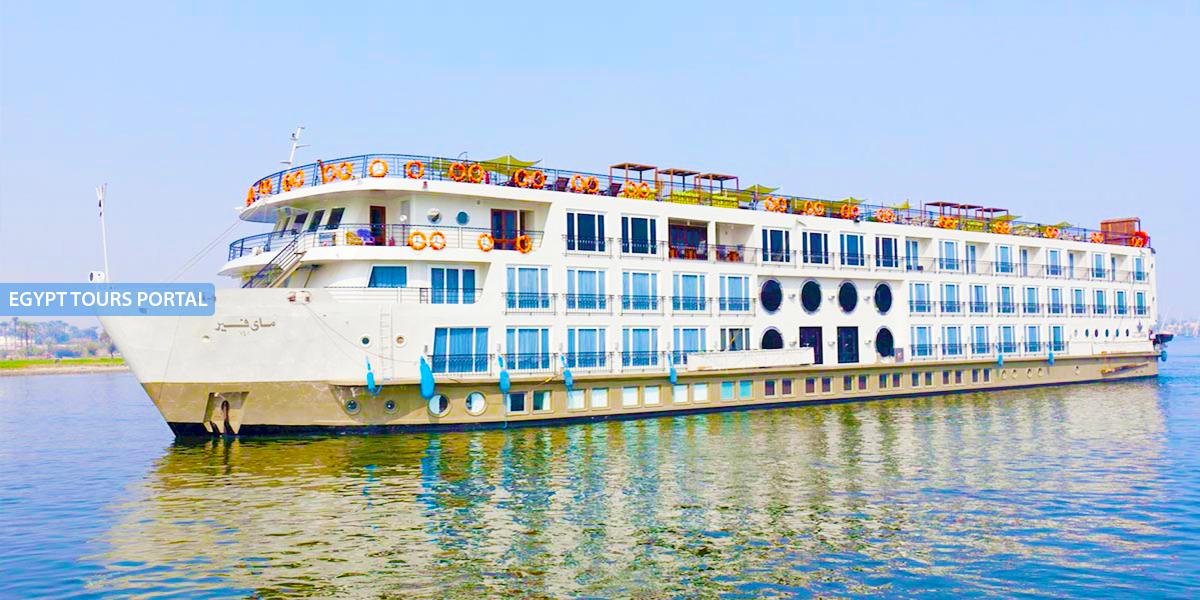 El Crucero de Lujo por el Nilo de MS MayFair