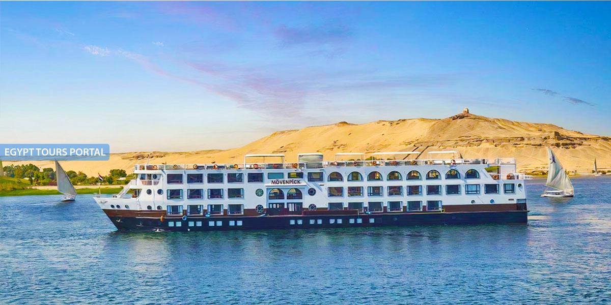 El Crucero de Lujo por el Nilo de Mövenpick MS Sun Ray