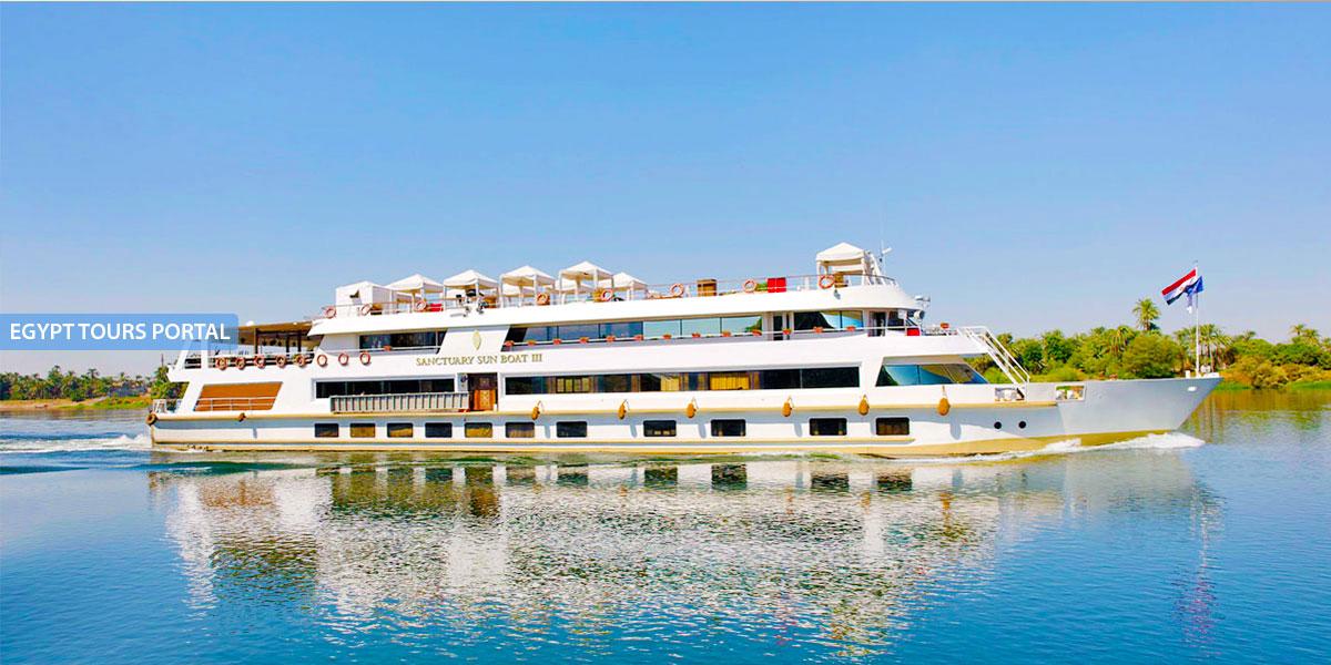 El Crucero de Lujo por el Nilo Sanctuary Sun Boat III