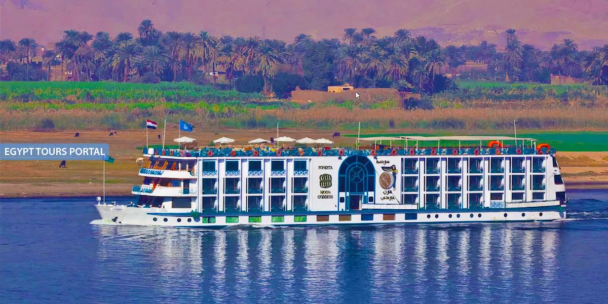 El Crucero de Lujo por el Nilo Sonesta Moon Goddess