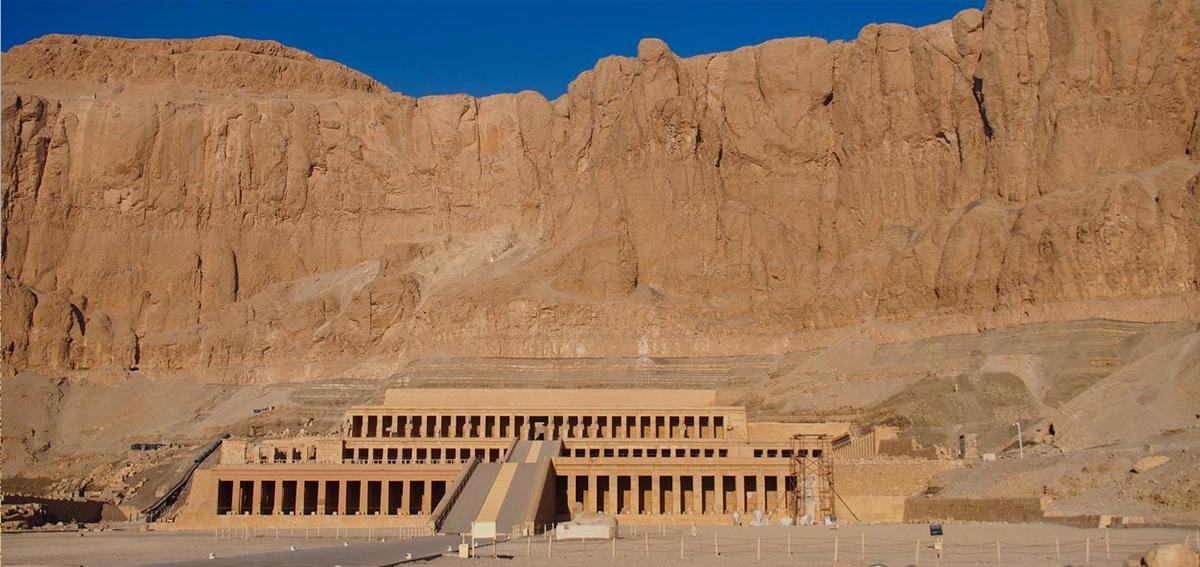 Lo destacado en la Orilla Occidental en Luxor en un Día