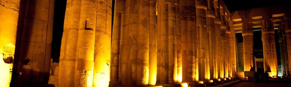 Espectáculo de Luz y Sonido en el Templo de Karnak