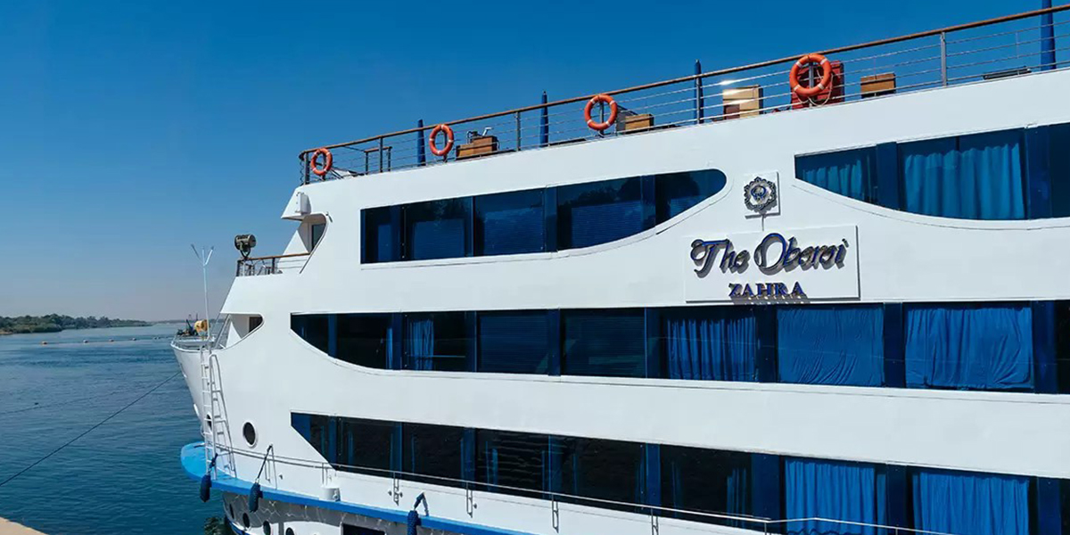 Oberoi Zahra Crucero por el Nilo en Semana Santa de 5 Días
