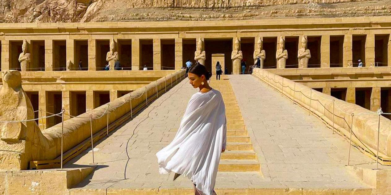 Maravilloso Viaje a Egipto Mujer Sola de 8 Días en El Cairo y Crucero por el Nilo
