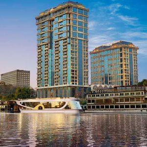 El Hotel de Four Seasons First Residence en El Cairo