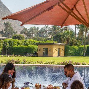 El Hotel de Marriot Mena House en El Cairo