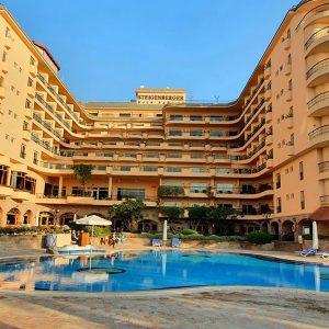 El Hotel de Steingenberger Nile Palace en Luxor