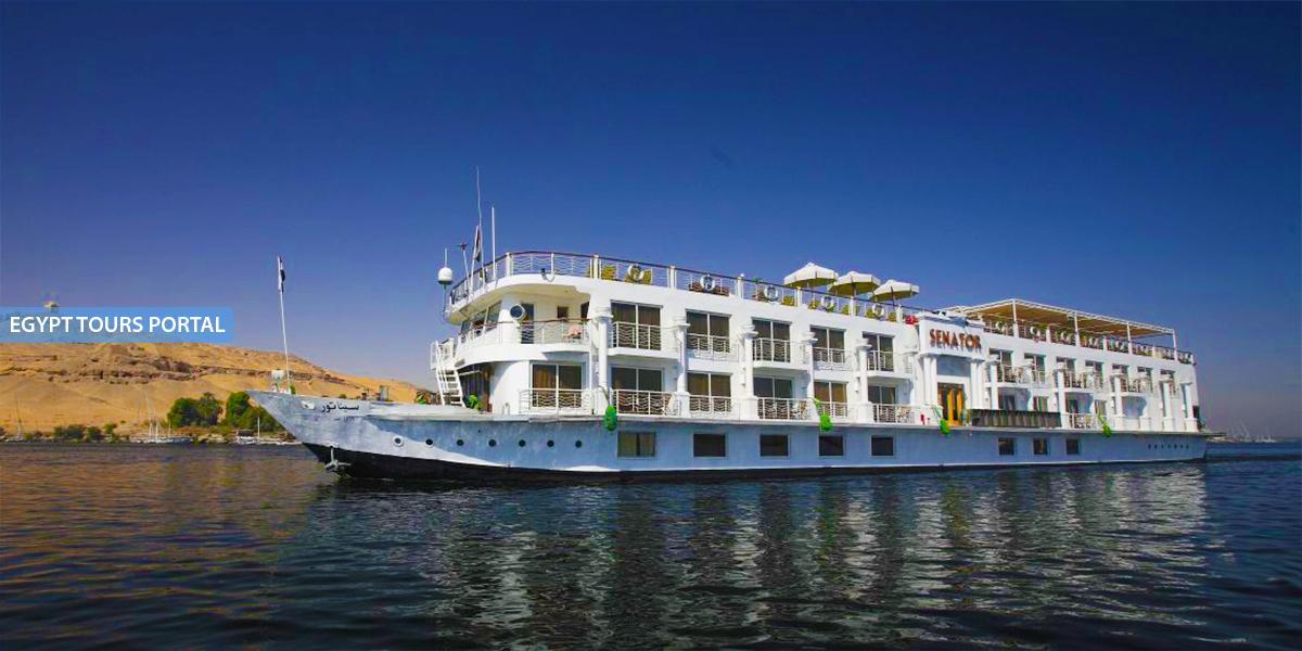 El Crucero de Gran Lujo por el Nilo de MS Jaz Senator