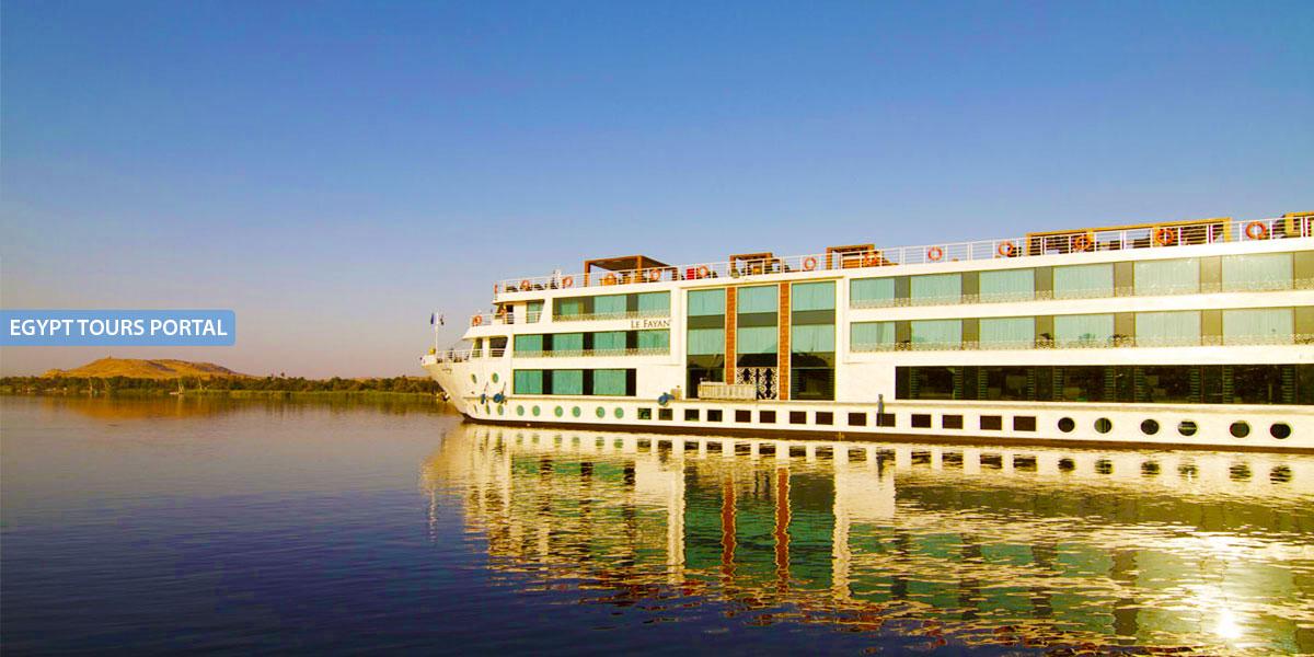 El Crucero de Lujo por el Nilo de Le Fayan