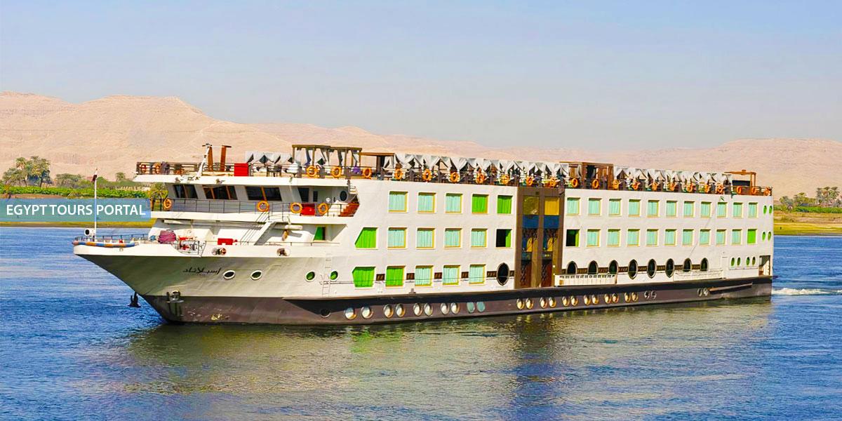 El Crucero de Gran Lujo por el Nilo de MS Esplanade
