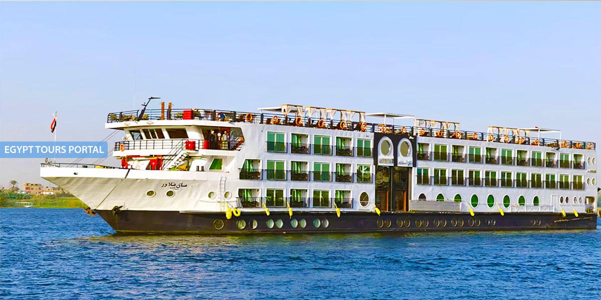El Crucero de Gran Lujo por el Nilo de MS MayFlower