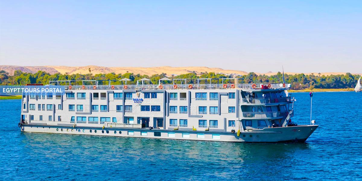 El Crucero de Lujo por el Nilo de MS Tulip