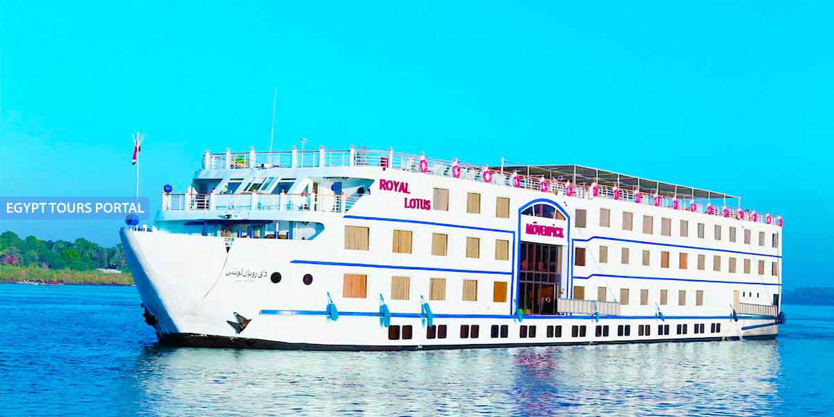 El Crucero de Lujo por el Nilo de Mövenpick Royal Lotus