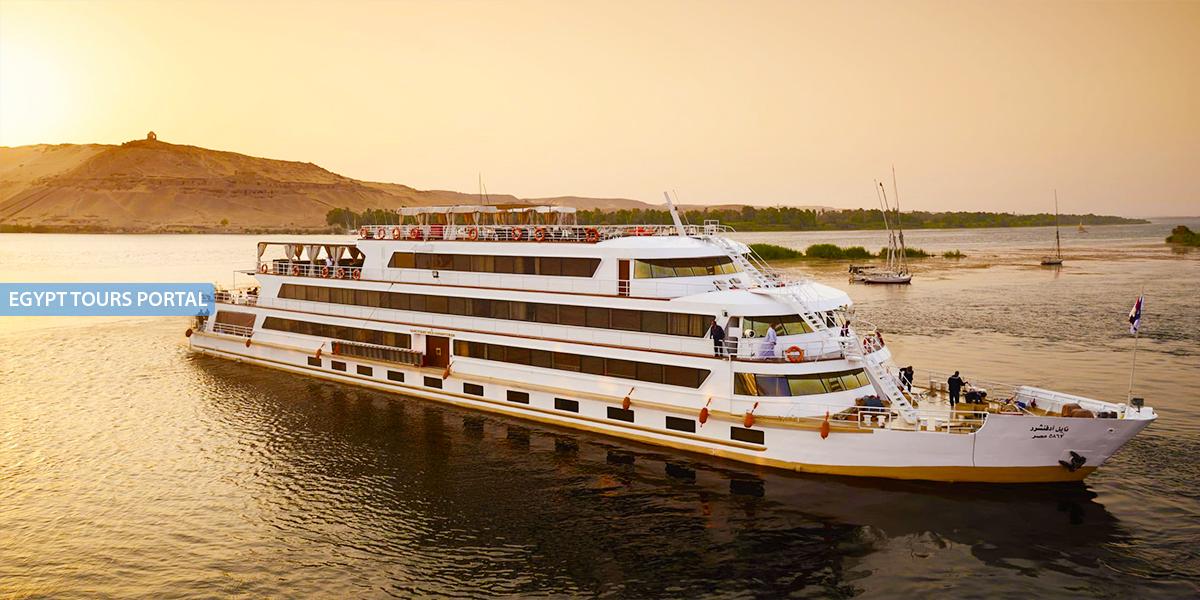 El Crucero de Gran Lujo de Sanctuary Nile Adventurer