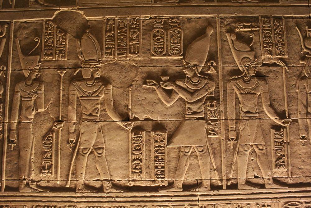 Relieves del Templo de Kalabsha