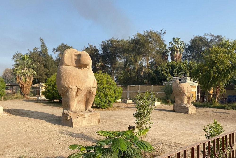 Dios Thot en Forma de Babuino - Egypt Tours Portal (ES)