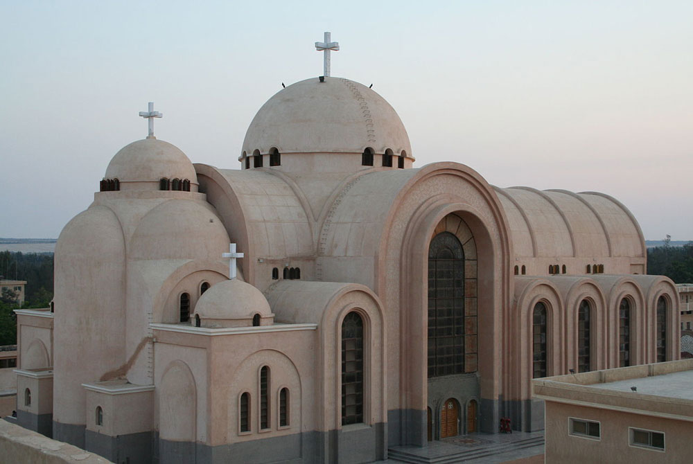 El Monasterio de San Bishoi (Deir Amba Bishoi) - Egypt Tours Portal (ES)