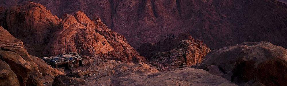 Día 6: Subir el Monte de Sinaí