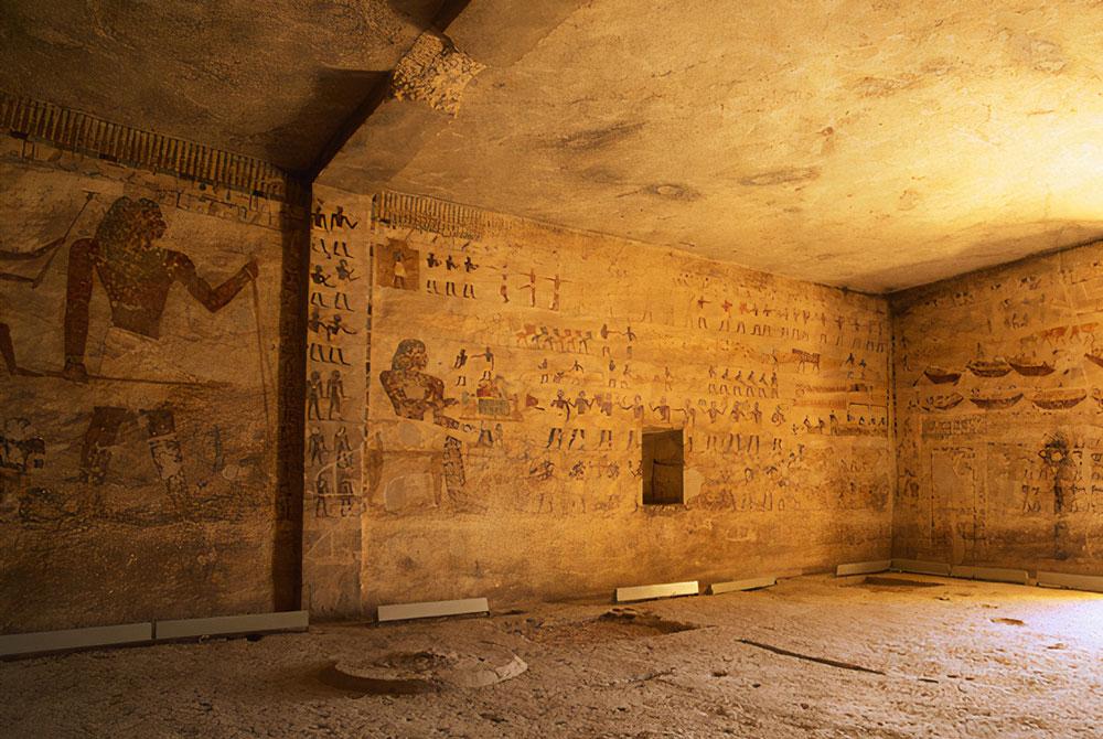 La Construcción de las Tumbas de Beni Hassan - Egypt Tours Portal (ES)