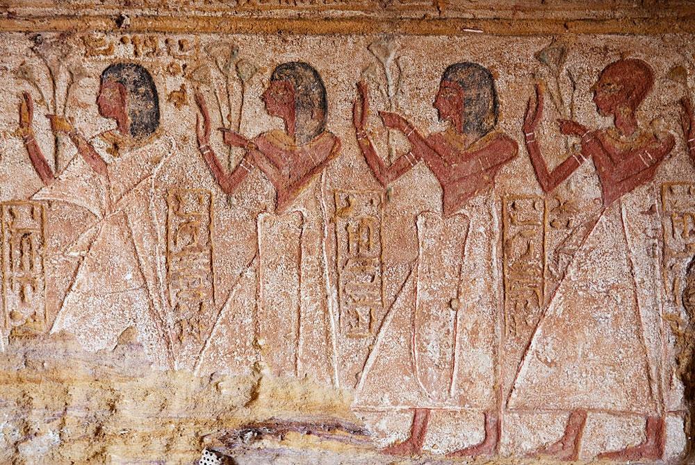 Relieves en el Templo de Amada - Egypt Tours Portal (ES)