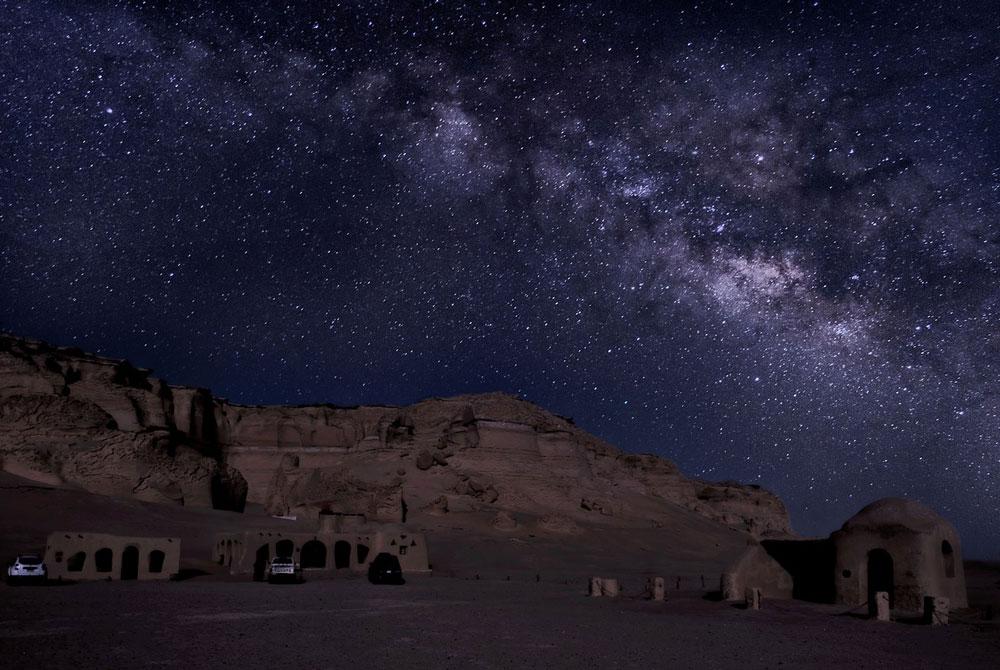Wadi El Hitan en la Noche - Egypt Tours Portal (ES)