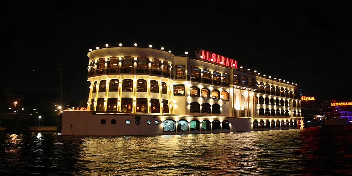Crucero por el Nilo con Cena en El Cairo