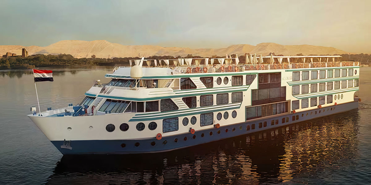El Crucero de Lujo por el Nilo de MS Acamar