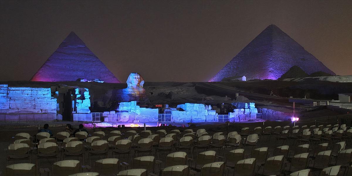 Espectáculo de Sonido y Luz en las Pirámides