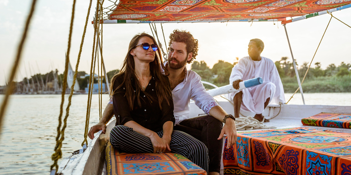 Paseo en Faluca por el Nilo en Asuán